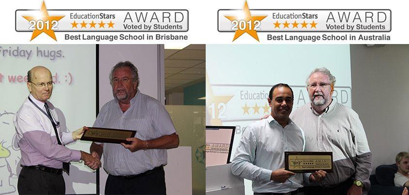 2012年「オーストラリア語学学校部門グランプリ」