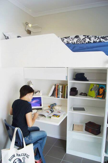 SPCケアンズの学生寮はとてもきれい。