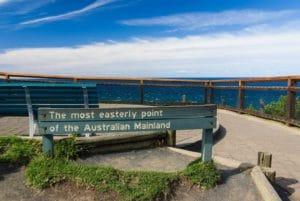 オーストラリア最東端にあるバイロンベイ