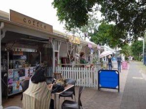 こういう小さなお店がたくさんあるのがバイロンベイの可愛さ