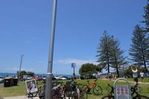 自転車移動が多いので、街中いたるところで自転車を見かけます。