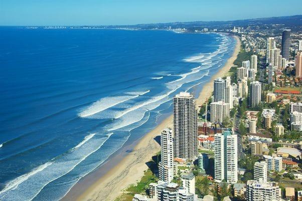 57キロも続く海岸線。20の異なるビーチがあります。
