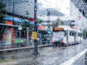 雨の日のメルボルン