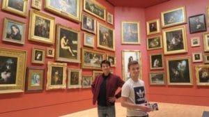 美術館も圧倒的なクオリティ。常設展示は無料で入場できます。