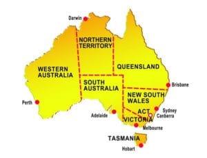 孤立したオーストラリアの主要都市パース