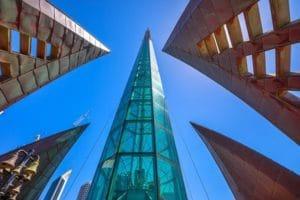 オーストラリア建国200年を記念して建設されたベルタワー