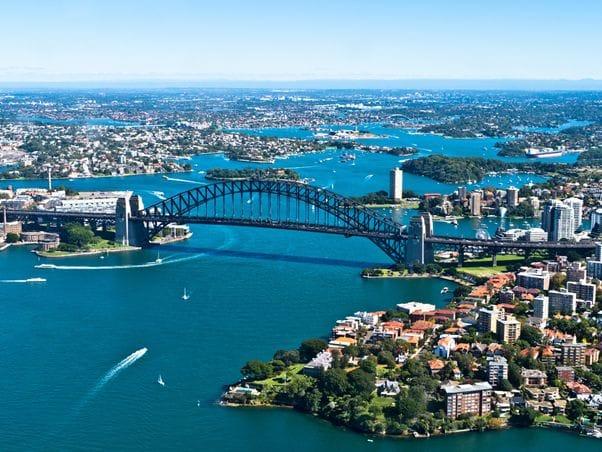 年間を通して過ごしやすい街シドニー