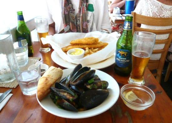 トリニティビーチにあるイタリアンレストラン