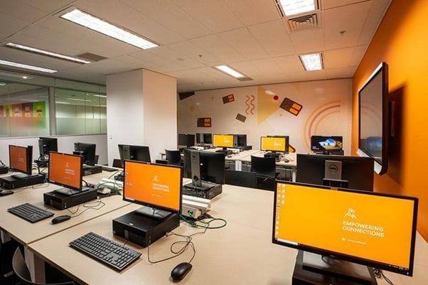 EC Melbourneの学校設備はとても充実