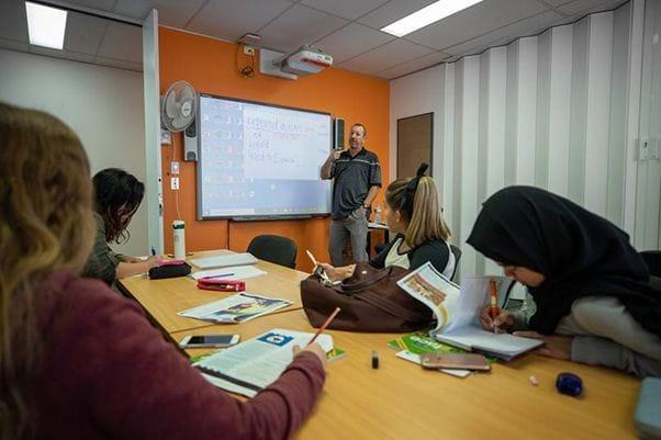 ECゴールドコーストキャンパスの教師陣は資格と経験豊富なプロ