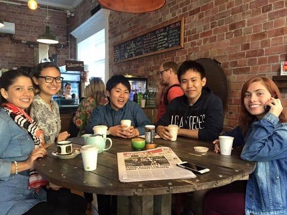 グリニッチ校は多国籍の留学生が集まるオーストラリア認定のインターナショナルスクール