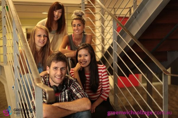 グリニッチは、多国籍な学生があつまるオーストラリア認定のインターナショナルスクール