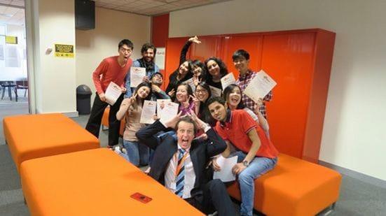 Impact Melbourne(インパクト)の生徒たち