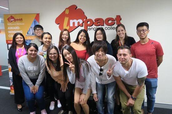 Impact Brisbane(インパクト)の学校の様子1