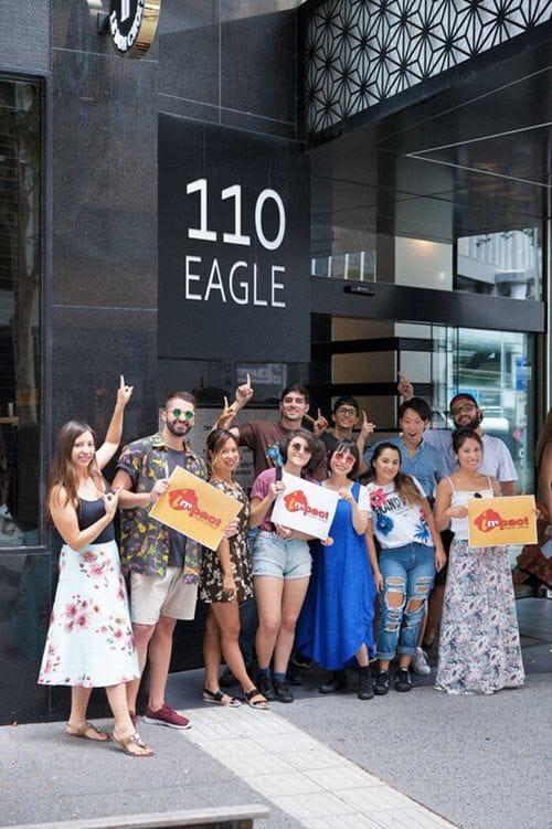 Impact Brisbane(インパクト)の学生たち
