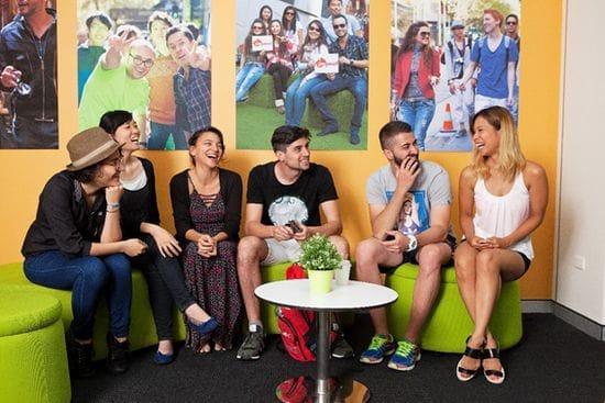 Impact Brisbane(インパクト)は多国籍の学生が集まります