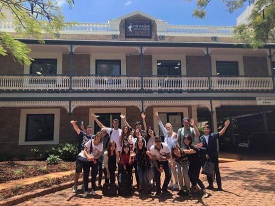 ゴールドコーストの語学学校「Inforum Education Australia」学校の様子2