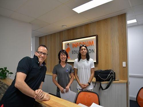 ゴールドコーストの語学学校「Inforum Education Australia」学校の様子5