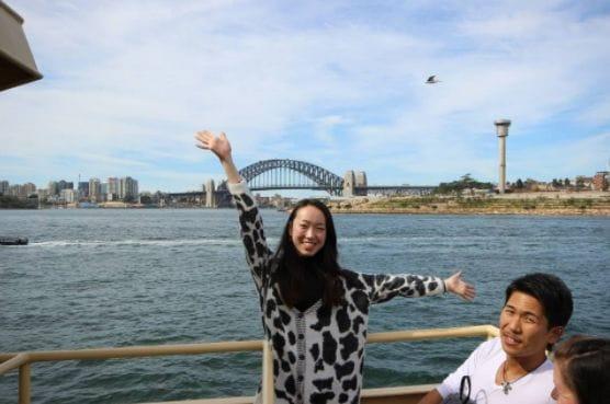 フェリーに乗ってシドニー満喫