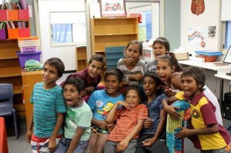 ラングポーツ基金では、先住民アボリジニーの教育支援を続けてい ます~the children of Cherbourg State Schoolにて~