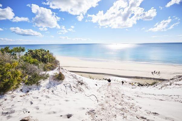マルチドールは非常に美しいビーチを持つリゾート地