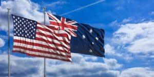 アメリカ英語とオーストラリア英語を比較してみましょう。