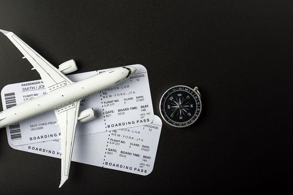 最近では電子航空券が一般的