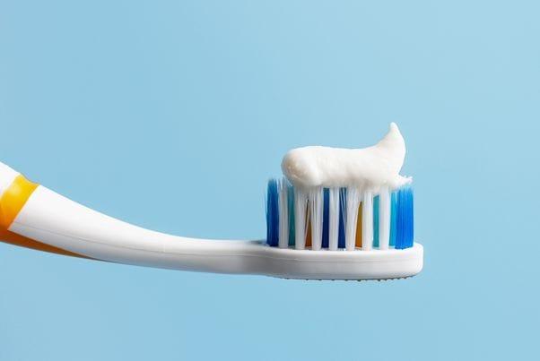 歯ブラシは大きいです。