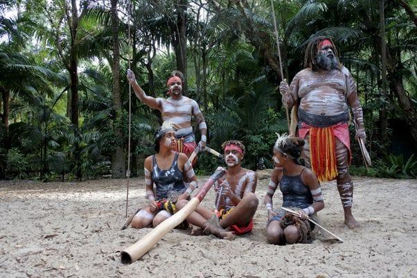 先住民族が暮らすオーストラリア