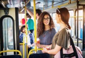 オーストラリアの公共交通機関でも親切