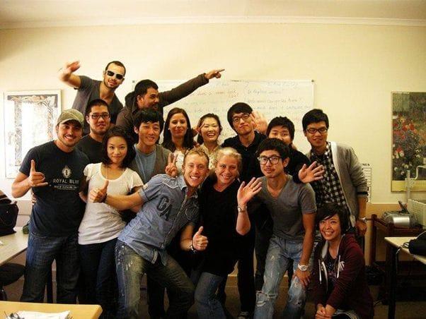 ミルナーカレッジの学生たち