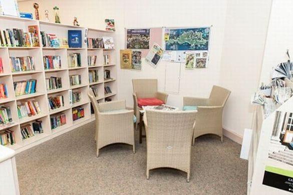 ミルナーのキャンパス内の図書館