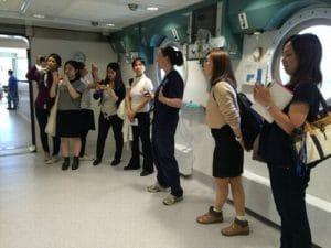 高圧酸素の部屋。これは急性期医療病院です