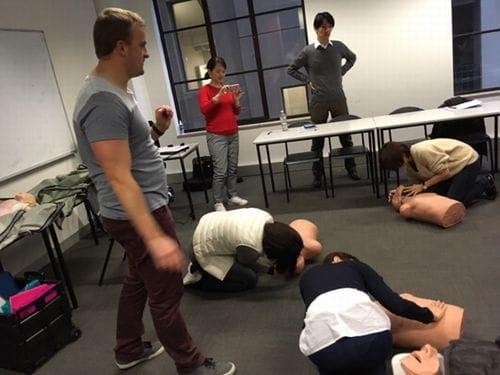 CPRトレーニングもやります
