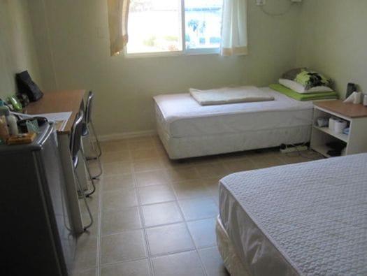学生寮は2人部屋が人気