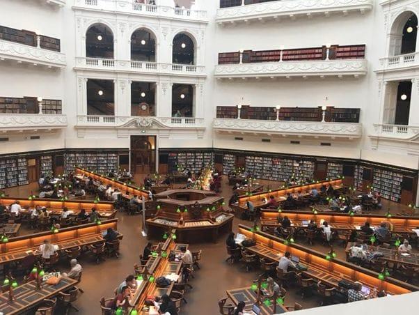 図書館好きにはたまらないビクトリアの図書館