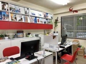 アクティブウーマンのオフィス