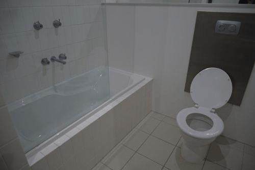 バスルームのレプリカもあります。