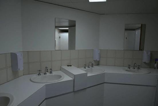 洗面所もあって、普通にスパにきたみたいです。