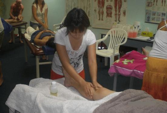 足の痛みをとるマッサージ
