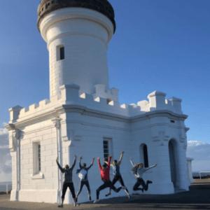 バイロンベイの有名な灯台