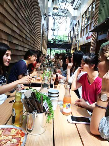 メルボルン留学中のお客さまを集めて現地で女子会