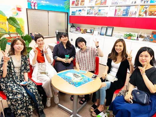 キックオフセミナー参加の女の子たち