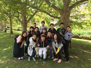素敵な友達、先生に恵まれ、毎日楽しく学校生活を送っています。