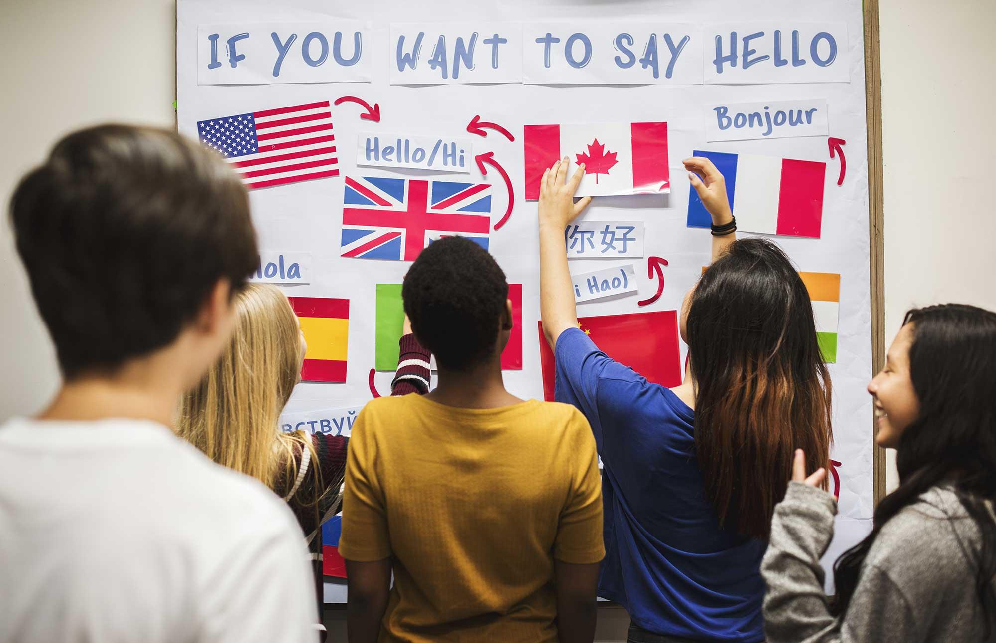 オーストラリアの語学学校は世界中から留学生が集まります