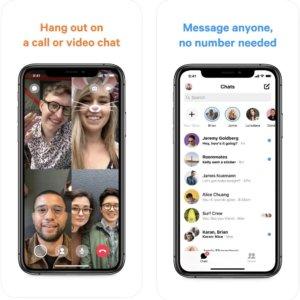 facebook Messengerのスクリーンショット